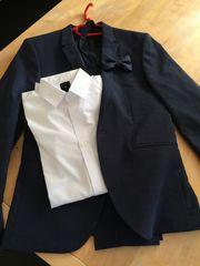 Anzug für Jugendliche dunkelblau