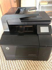 HP Laserfarbedrucker
