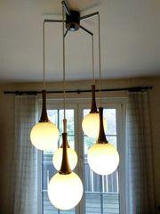 Deckenlampe im Retro-Style mit 5