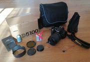 Nikon D5100 mit 18-105mm und