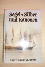 Buch Segel - Silber und Kanonen