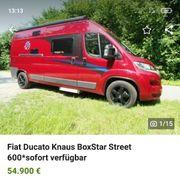sehr gepflegter Fiat Ducato Knaus
