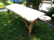 Massagebank zusammenklappar neuwertig gute Qualität