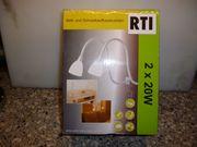 RTI Bett und Schrankaufbauleuchten 2x20W
