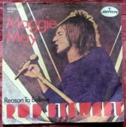 Vinyl-Single Rod Steward - Maggie May
