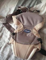 Chicco Babytrage Neugeborenen Einsatz