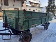 Traktor Anhänger Kipper Auwärter