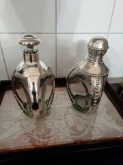 Flaschen mit 925 Silbermontur