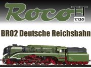 ROCO TT 36029 DR Dampflokomotive
