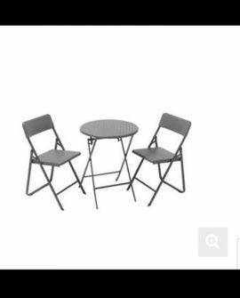Gartenmöbel - Gartentisch Set NEU Tisch Klappbar