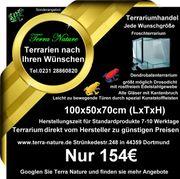 Dendrobaten-Terrarium 100x50x70cm LxTxH Froschterrarium