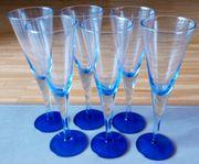 6 Sektgläser Champagner Prosecco Sekt