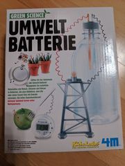 Experimentierkasten green science Umweltbatterie
