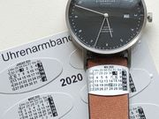 Uhrenarmbandkalender 2020 - Der Monatskalender am