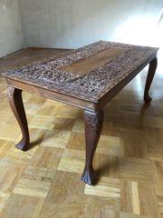 Beistelltisch Opiumtisch aus Holz mit