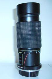 Zoomobjektiv 80-200 mm
