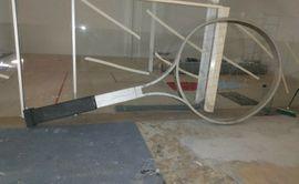 Unikat überdimensionale Tennis Schläger: Kleinanzeigen aus Mannheim Käfertal - Rubrik Tennis, Tischtennis, Squash, Badminton