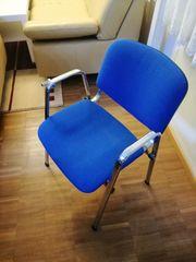 Stuhl Sessel Blau
