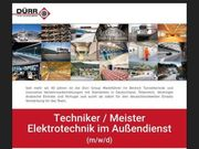 Techniker Meister Elektrotechnik im Außendienst