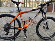 26 er MTB Carbon Race-Hardtail