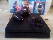 Playstation 4 mit ein controller