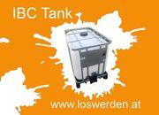 IBC Tanks gebraucht rekonditioniert statt