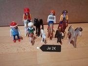 Playmobil Pferde und Mändle