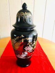 Deckel Vase 45 cm hoch