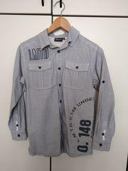 Jugend Freizeithemd Hemd Gr 146-152