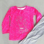Zweiteiliger Schlafanzug Pyjama Nachtwäsche Gr