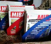 50 neuw MIBA-Zeitschriften im Schuber