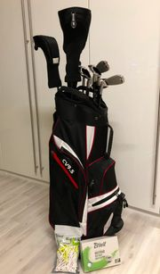 Golf Komplettset Crivit inkl Bag