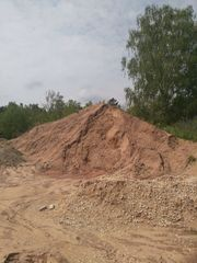 Sand für Bau Auffüllung Garten