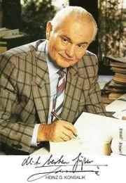 Heinz G Konsalik Büchersammlung