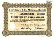 20 Historische Wertpapiere Dt Reich