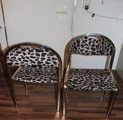 Stühle im Leoparden Look