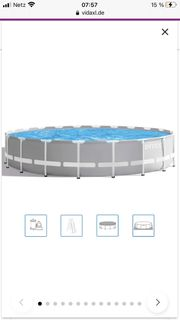 Intex Swimmingpool set inkl Pumpe