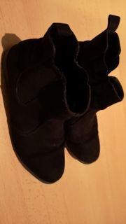 Stiefeletten gr 38 in schwarz