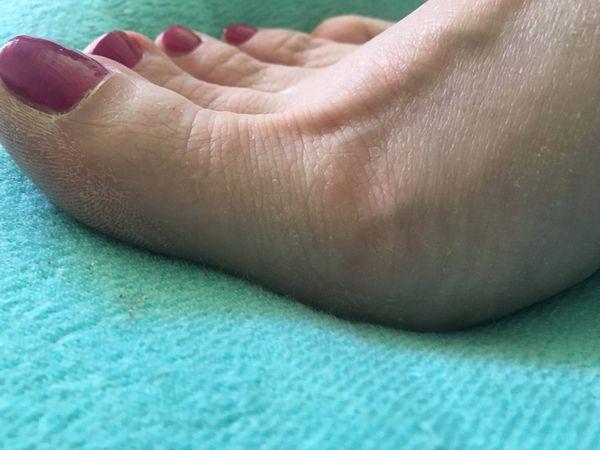 meine Füße gegen TG