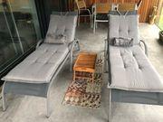 Wunderschöne Ikea Liegestühle mit Kissen