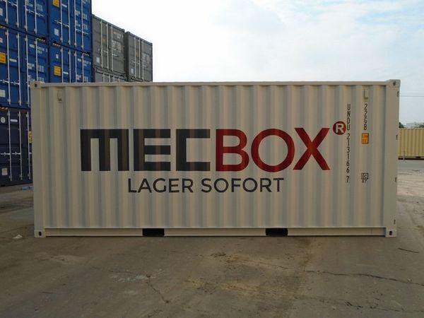 20 40 Fuß Seecontainer Lagerraum
