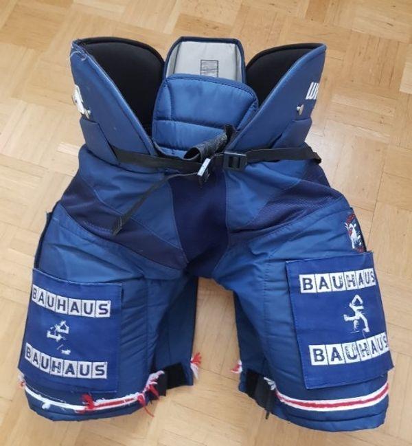 Adler Mannheim Eishockeyhose Warrior Pro
