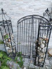 Gartentüre aus Stahl