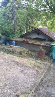 Gartengrundstück mit Wochenendhaus für Naturliebhaber