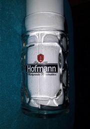 Hofmann Glaskrug Bierglas