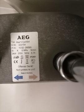 Elektro, Heizungen, Wasserinstallationen - Boiler AEG 5 LITER
