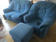 Sofa- Sesselgarnitur 6-7 Sitze 4-teilig