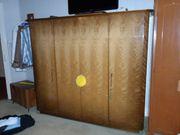 Schlafzimmerschrank Kleiderschrank Holzschrank nostalgisch