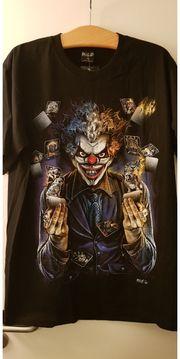 Joker T-Shirt beidseitig bedruckt