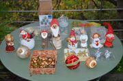 Weihnachts Deko Sortiment Dekofiguren Baumbehang